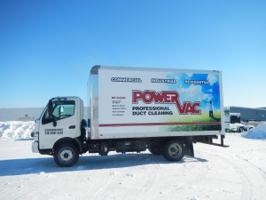 New Power Vac Truck