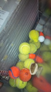 Balls on AC