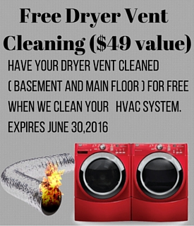 dryer vent cleaning pickering