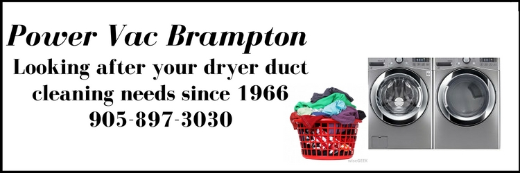 dryer duct cleaning brampton